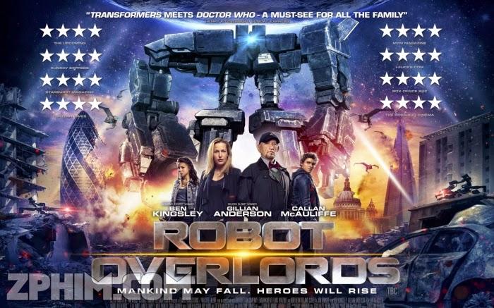 Ảnh trong phim Đế Chế Robot - Robot Overlords 1