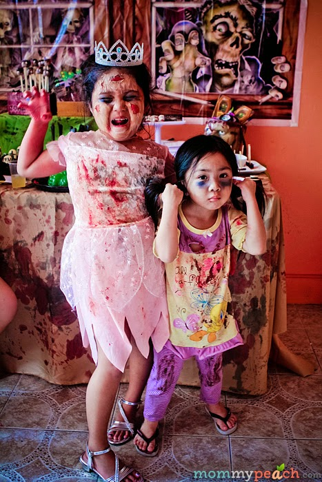 Our Family's Zombie Apocalypse Halloween Party 2013