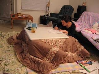 Mundo japon kotatsu for Mesa japonesa tradicional