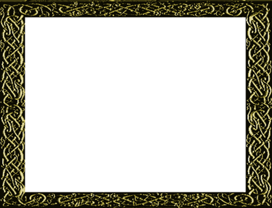 Gold Celtic Frame - Titles2 (RMVXA)