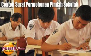 Contoh Surat Permohonan Pindah Sekolah - pusber.com