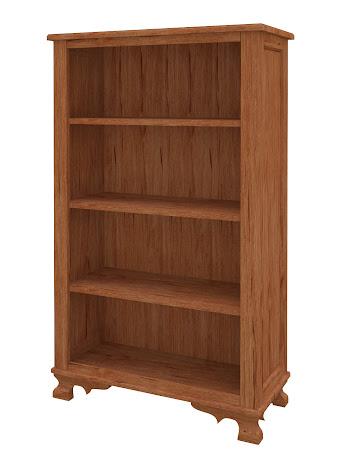 Prairie Standard Bookshelf in Vermont Maple