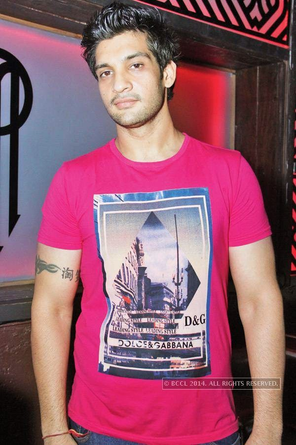 Yogesh Choudhry during Kriti Dhir's birthday party, held at The Mansion Club in Garden Of Five Senses, New Delhi.