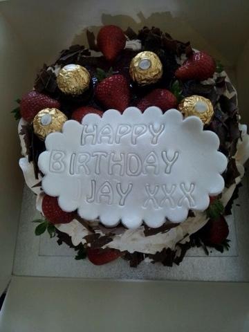Cake Delights Happy Birthday Jay