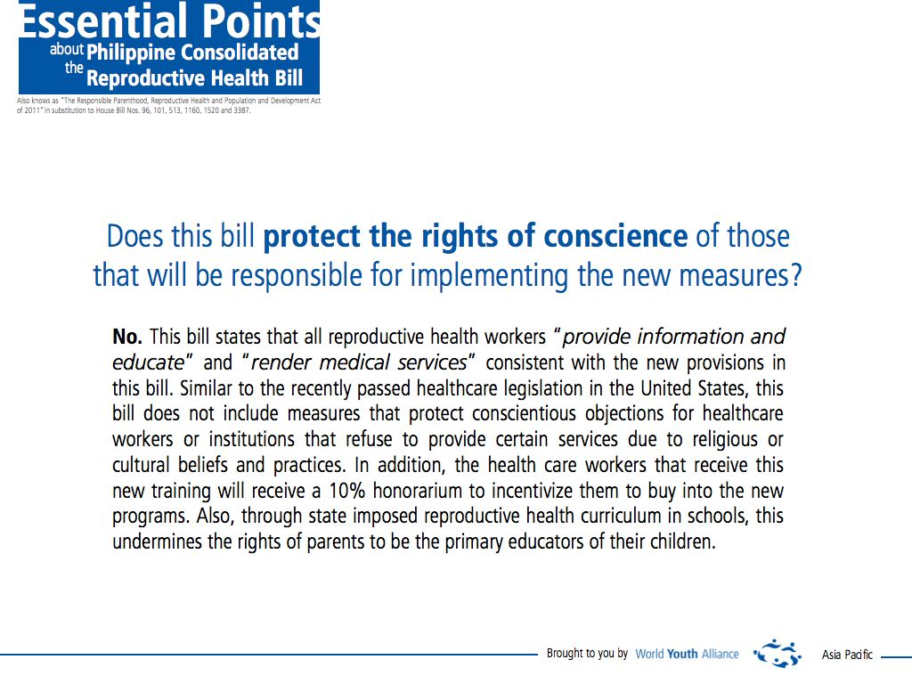 rh bill Lapid, jezelle irish c 2008-51494 position paper (rh bill) eng 10 wfv1 prof de ocampo the reproductive health bill thesis statement: the reproductive health bill.