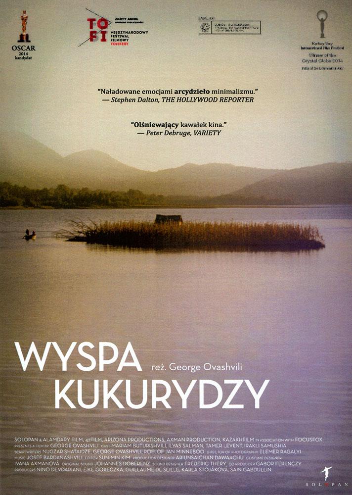 Ulotka filmu 'Wyspa Kukurydzy (przód)'