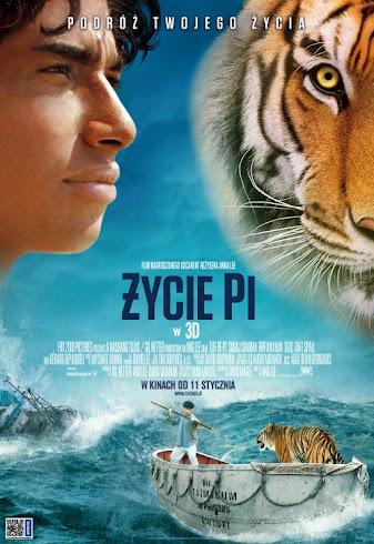 Plakat filmu: Życie Pi