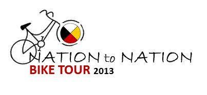 Nation to Nation Bike Tour Logo
