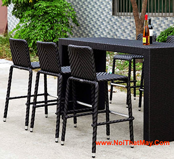 Outdoor Wicker Bar Set Minh Thy 810