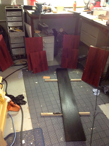 Möbler och Design Design badrum, svängande hylla