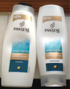 Pantene repair and protect shampoo and conditioner