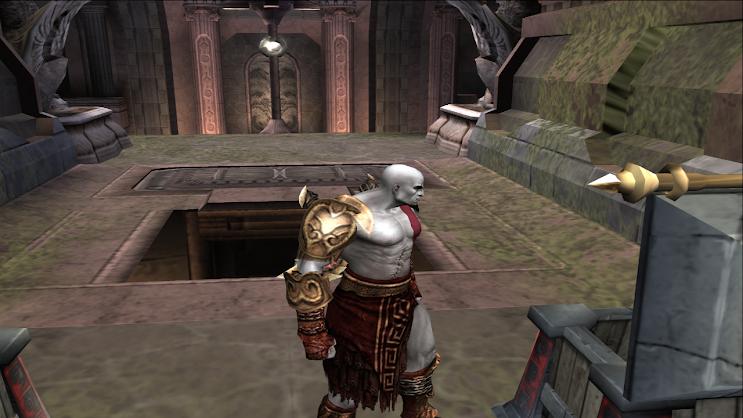 juego de God of War 2 en hd en una pc
