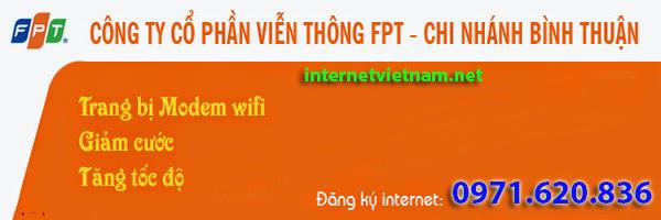 Đăng Ký Lắp Đặt Internet Fpt Tại Bình Thuận