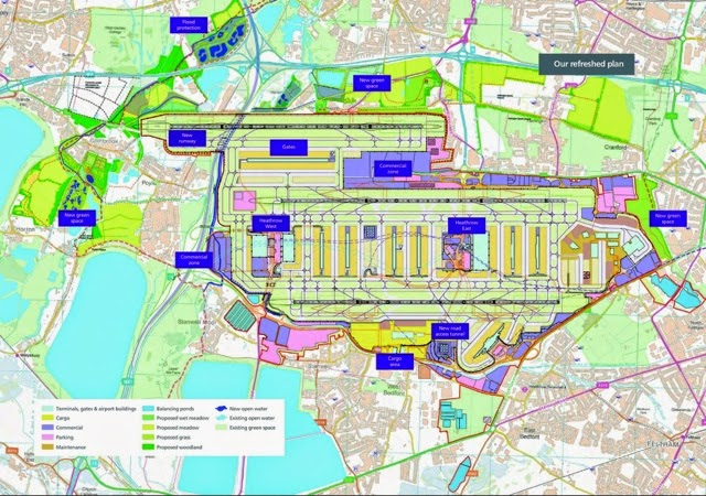 About airport planning london heathrow 39 s third runway nw option original and refreshed Airport planning and design course