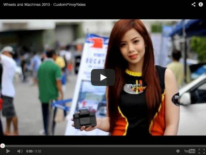 Wheels and Machines 2013 Video Coverage by Custom Pinoy Rides Errol Panganiban