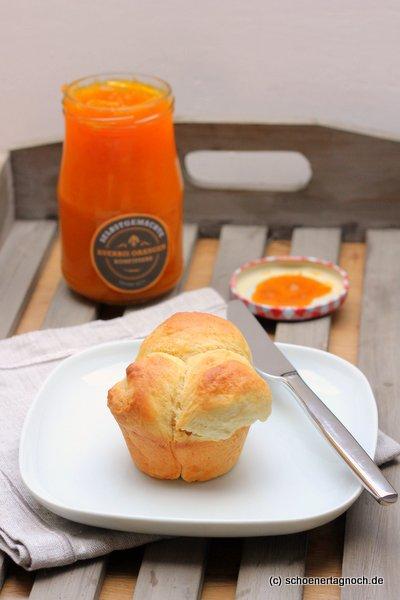 Nicht nur für den Oster-Brunch: Orangen-Brioche