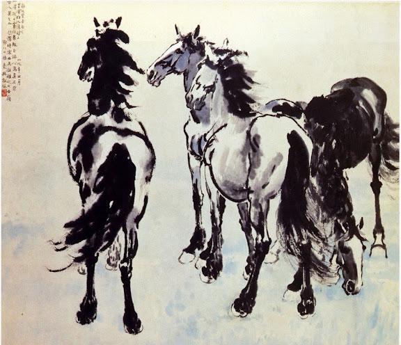 Đức Phật luận về 4 loại ngựa