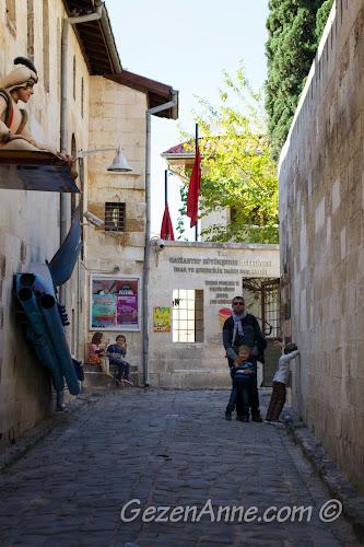 Gaziantep Oyuncak Müzesi sokağı