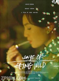 A Phi Chính Truyện - Days of Being Wild (1990) Poster
