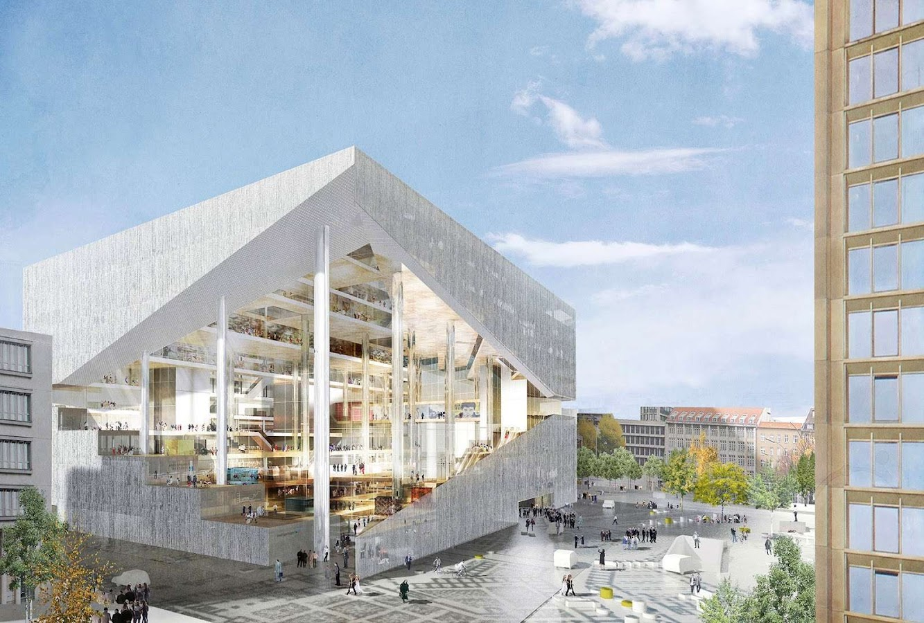 News: OMA WINS AXEL SPRINGER'S NEW MEDIA CENTRE COMPETITION