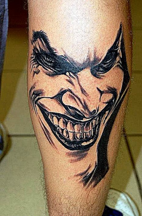 Some Joker Tattoo Ideas for Your Consideration  Awesome Tattoo