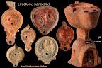 Lucernas. Cultura romana