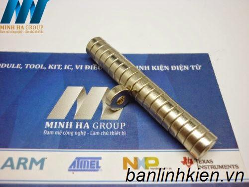Nam Châm D8x2.75+3MM NC004