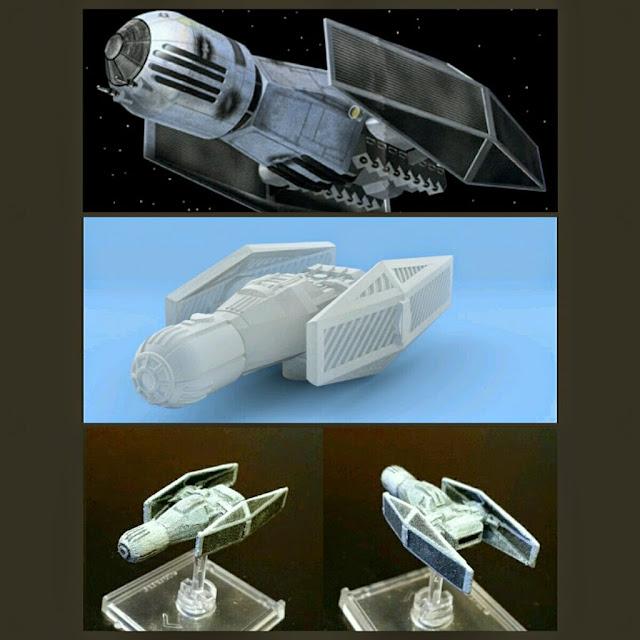 Scimitar Bomber de Mel Miniatures
