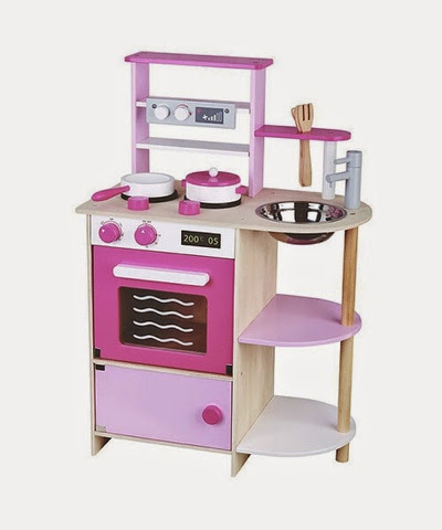 MaMaMeMo Wooden Play Kitchen £74.99