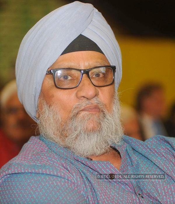 Bishan Singh Bedi during the UNICEF event.