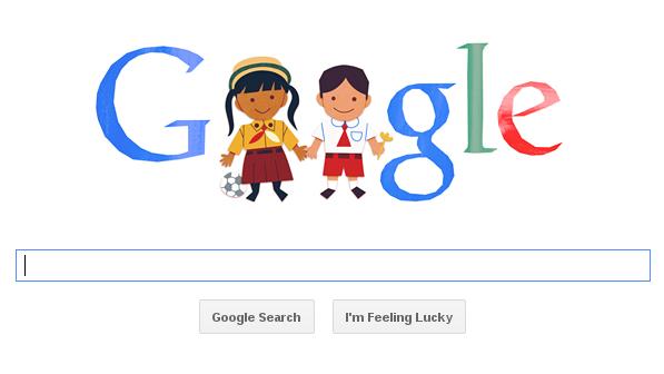 google doodle hari anak nasinal 2013