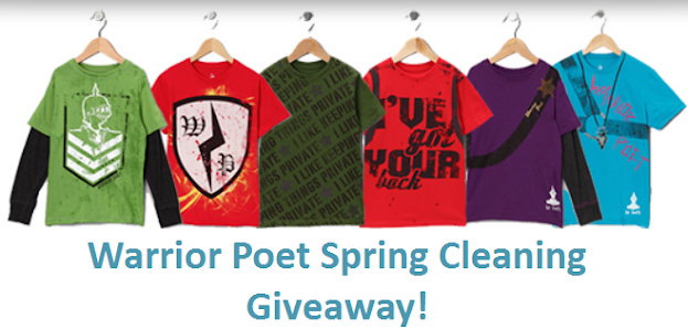 Warrior Poet Spring Cleaning