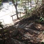 steps down to Berowra Waters (72244)