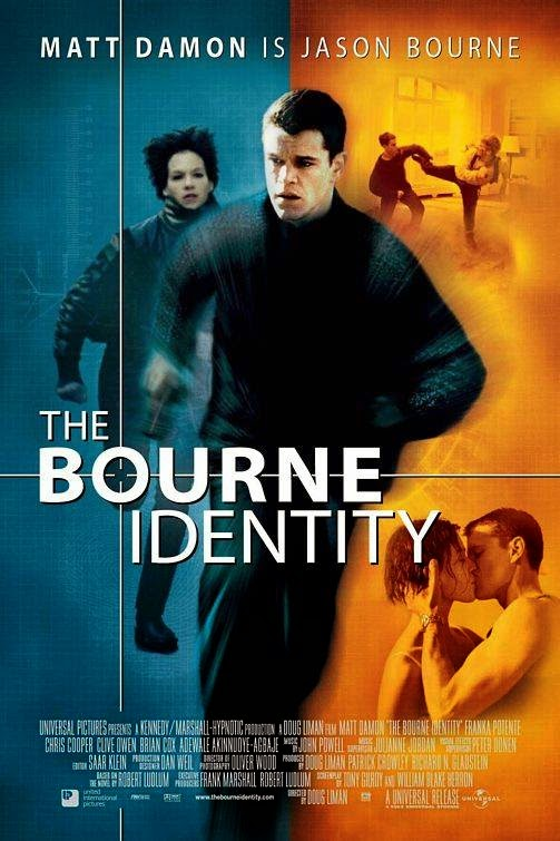 Poster Of The Bourne Identity (2002) Full Movie Hindi Dubbed Free Download Watch Online At Alldownloads4u.Com