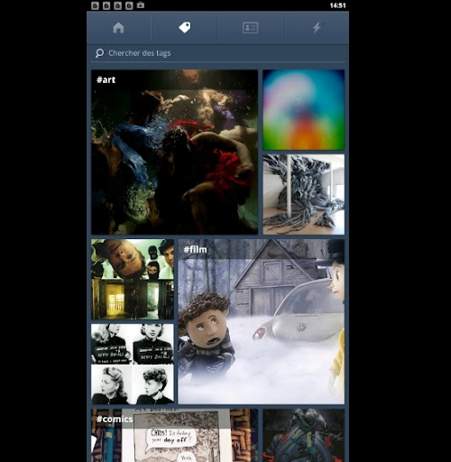 Tumblr sur android