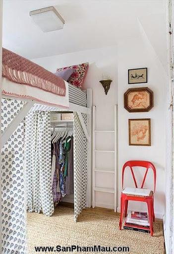 Thiết kế tủ quần áo: Một số thủ thuật giúp tăng diện tích để quần áo-2