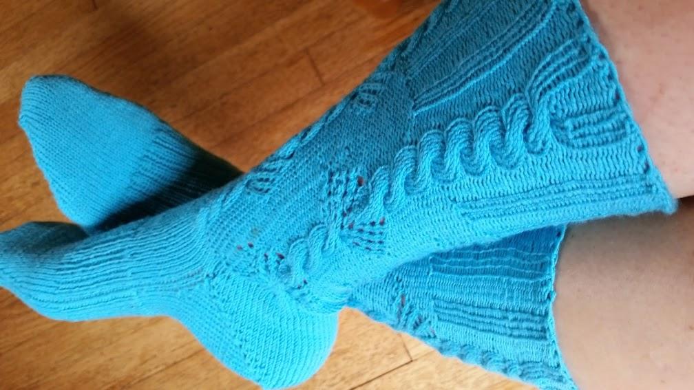 Imi's wool socks