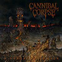 Cannibal Corpse - A Skeletal Domain recenzja okładka review cover