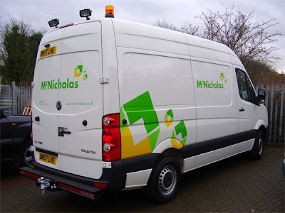 utilities contractor van conversion