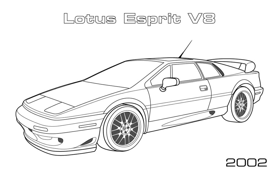 lexus car coloring pages coloring pages