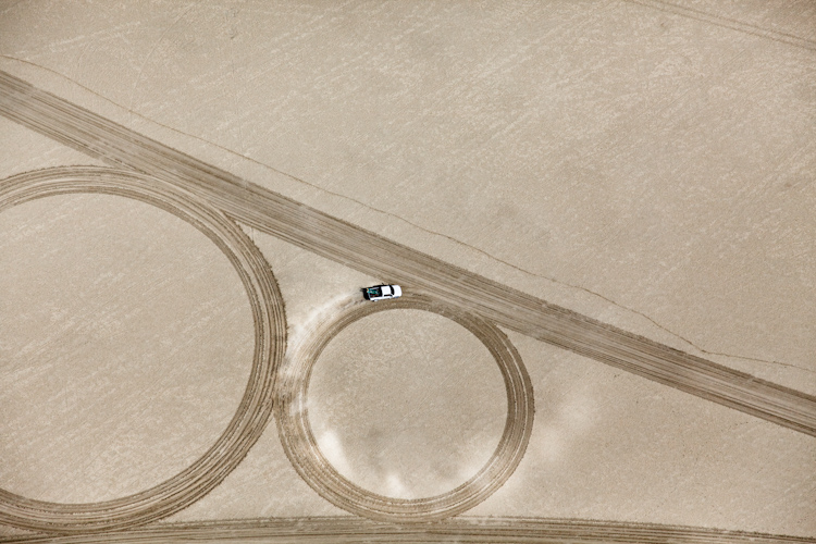Jim Denevan, Land art