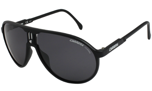 Carrera-Champion-Matte-Black-Polarised-sunglasses