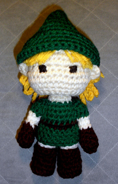 Link (Legend of Zelda) Amigurumi free pattern Lets ...