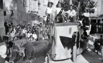 Carroza con las piratas del año 1939