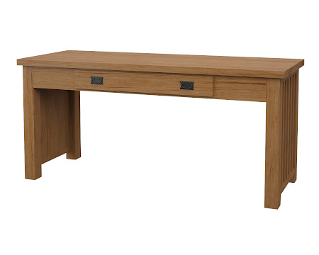 Mission Writing Desk in Calhoun Maple