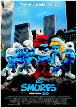 Os Smurfs – BDRip AVI Dublado
