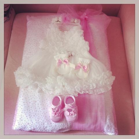 bebek mevlüt kıyafeti