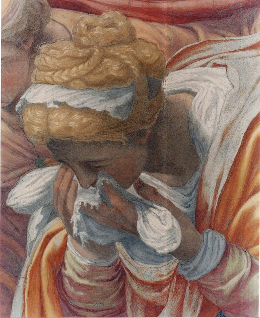 Daniele da Volterra - Descent form the Cross, detail