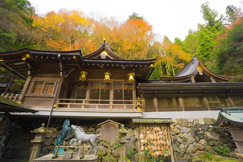 京都 貴船神社 紅葉 写真3