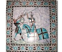 mural de ceramica mudejar